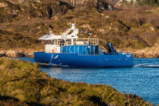 First Electric Fishing Vessel