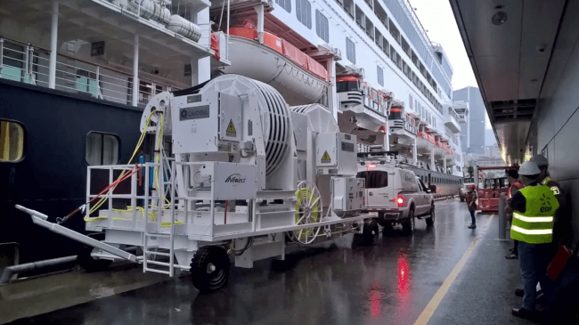 Port of montreal_cruise ship charging