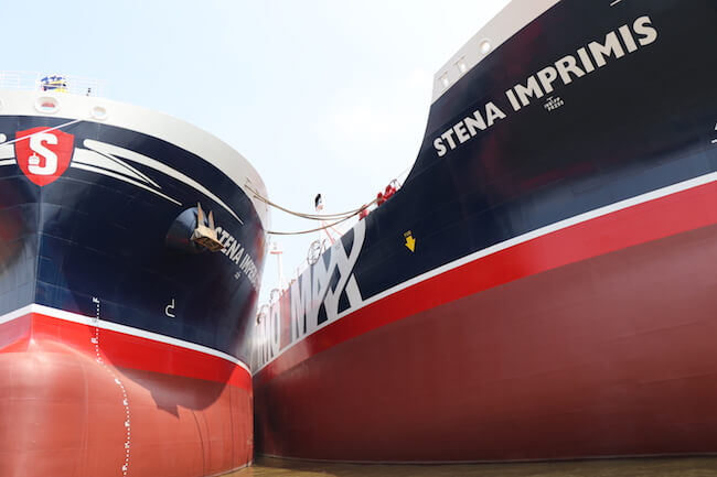 Stena Bulk Twin Naming Ceremony
