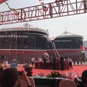 Stena Bulk twin naming cermony2