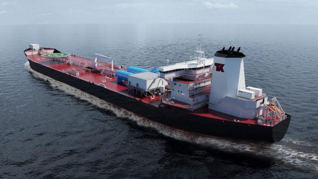 Teekay offshore shuttle tanker