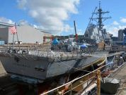 Stricken Destroyer USS Fitzgerald To Be Repaired At Huntington Ingalls
