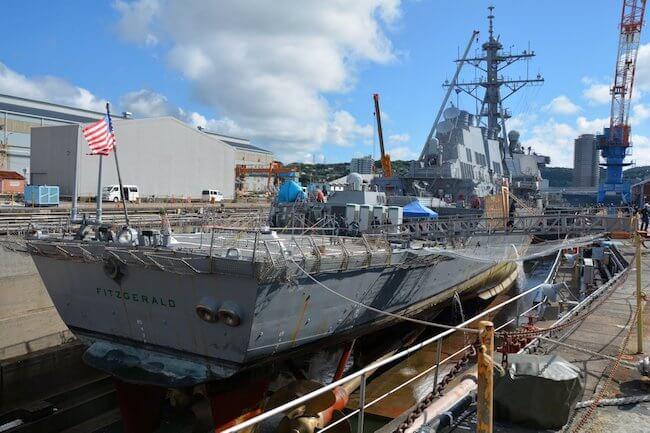 USS Fitzgerald_Huntington Ingalls