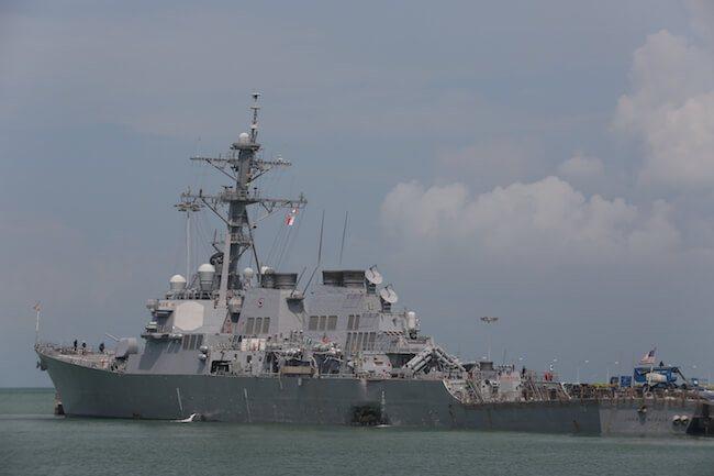 USS John S McCain Collision