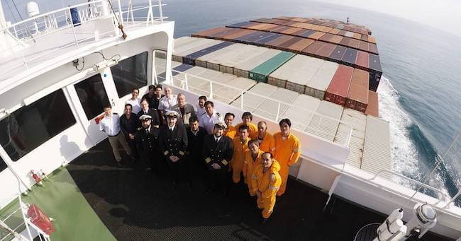 hapag lloyd chicago express crew