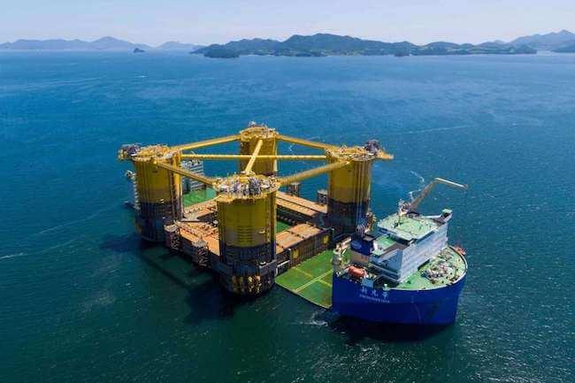 massive deep-water platform_shell