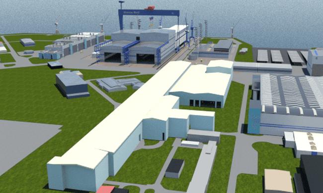 mv-werften-construction hall