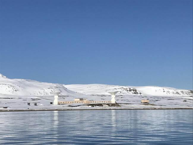 scientific base Ny-Ålesund Svalbard