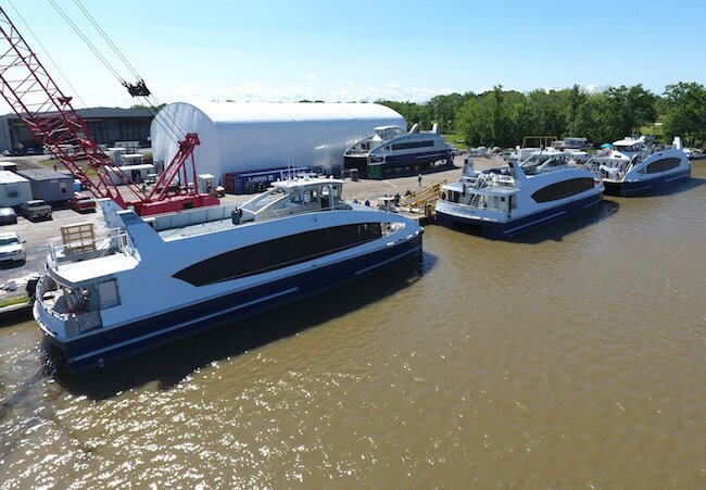 Metal-Shark-Louisiana-Shipyard-Builder-of-Passenger-Vessels-NYC-Ferry-Water-Taxi-350-Passenger-Aluminum-High-Speed-Incat-Crowther-Leading-Builder