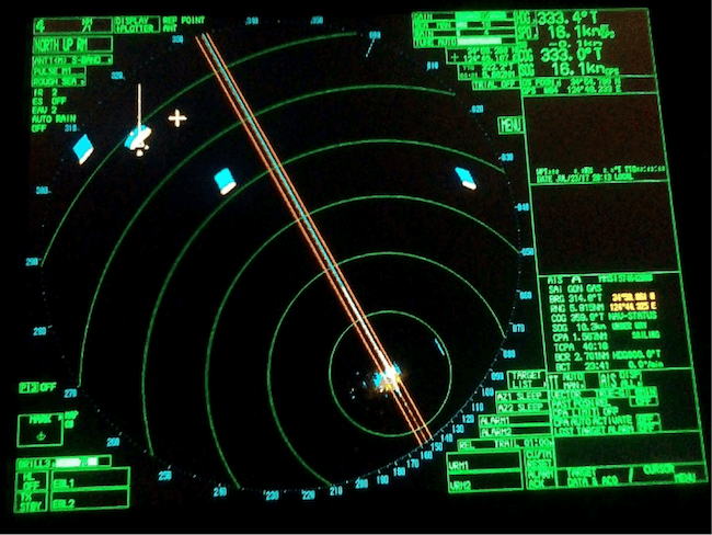 Radar in Ship
