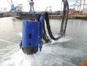 The DOP has been used on thousands of different dredging jobs around the globe including bed leveling and barge