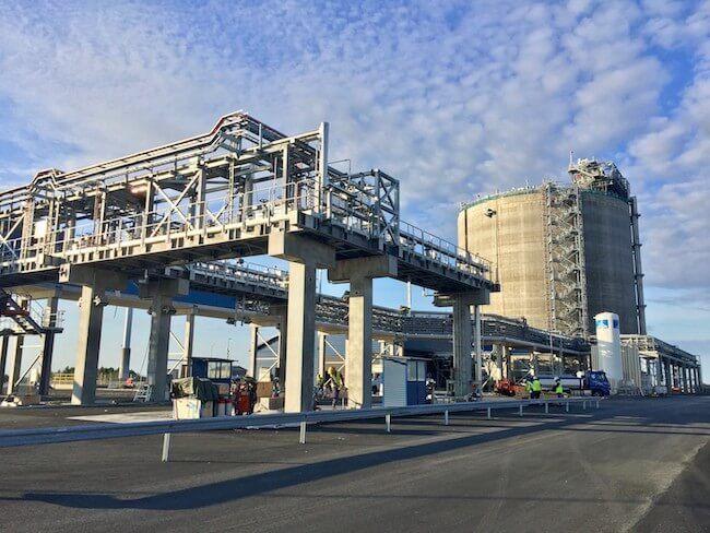 Tornio Manga LNG terminal 18 August 2017