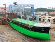 World's First LNG-Powered Handysize Bulk Carrier Successfully Launched