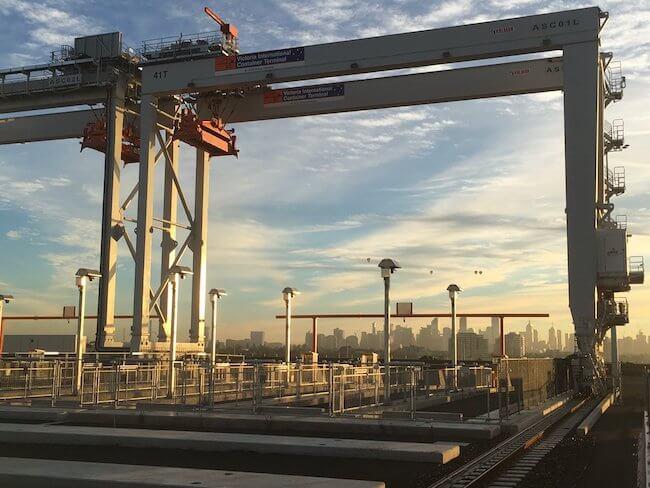 automated terminal australia kalmar cargotec