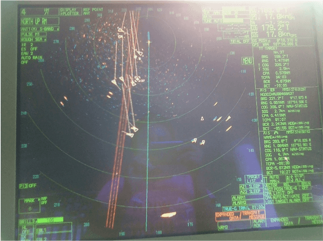 Radar On Ship