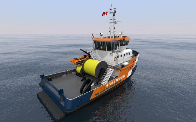 Bravo 2500 Pollution Response Vessel0