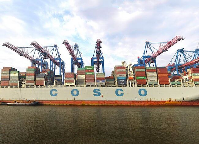 COSCO Netherlands hhla de
