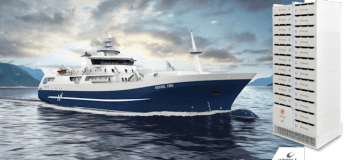 Corvus Energy To Power World's First Hybrid Fish Farm Processing Vessel