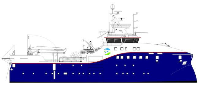 Faroe research vessel