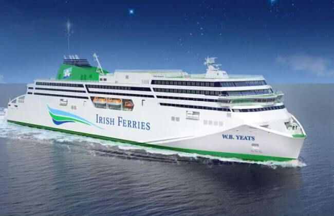Irish Ferries WB Yeats