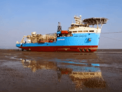 Watch: The First Engineered Grounding Of Deepocean's Maersk Connector