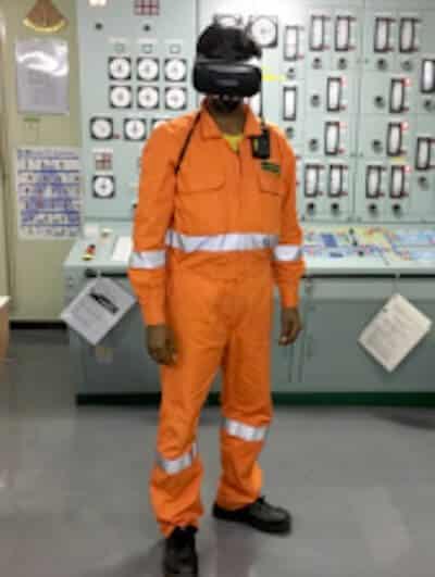 Mariner safety tool VR 2