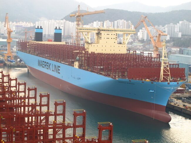 Munchen Maersk ready for sea trial