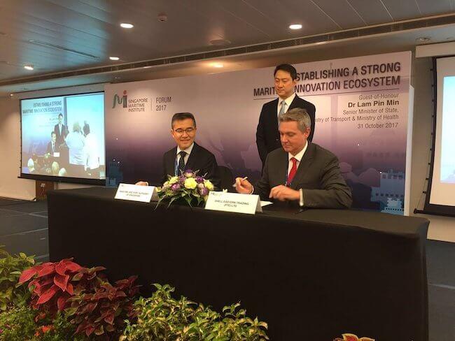 Shell And MPA Singapore