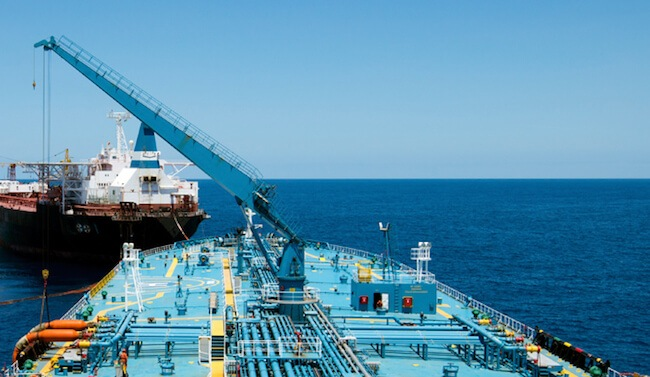 Tanker to FPSO