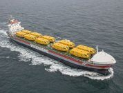 Wagenborg's 'M.V. Vancouverborg' Delivers 20 Lifeboats Successfully