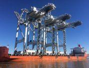 Port Houston Welcomes More Super Post-Panamax Cranes