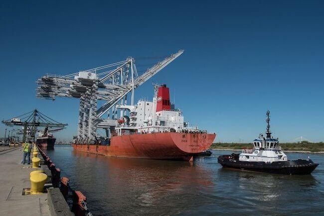 port of houston crane