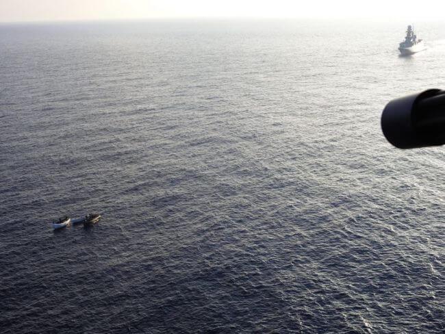 EU NAVFOR captures pirates
