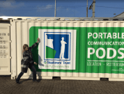 ITF Seafarers' Portable communication pods
