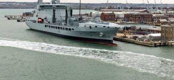 RFA Tidespring_Royal Navy