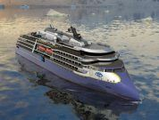 Steel Cutting Ceremony Of Ulstein Designed Expedition Cruise Vessel Carried Out