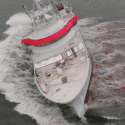 damen fishing research vessel launch