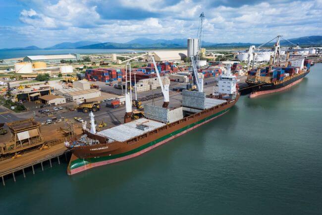 Townsville port