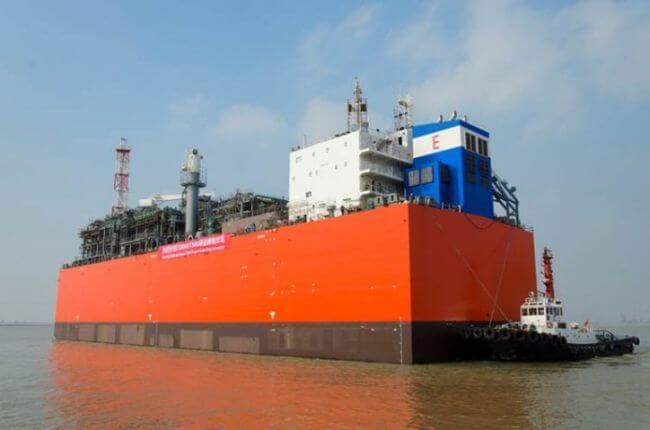 Barge-Based FSRU