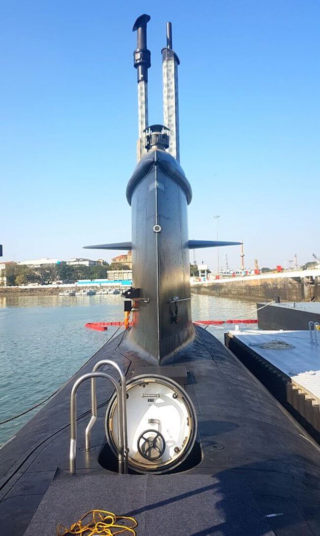 Indian Navy INS Kalvari