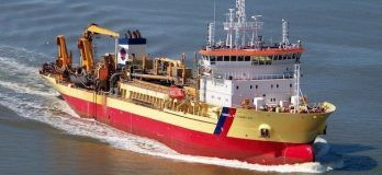Damen Awarded Contract For First European Conversion Of Dredger To Dual-Fuel LNG/MGO
