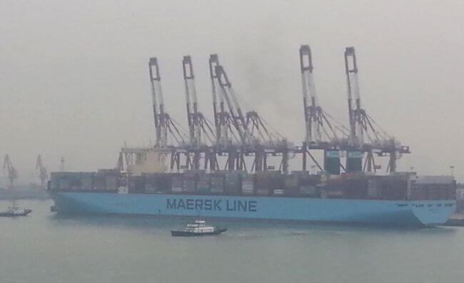 Unberthing the ship