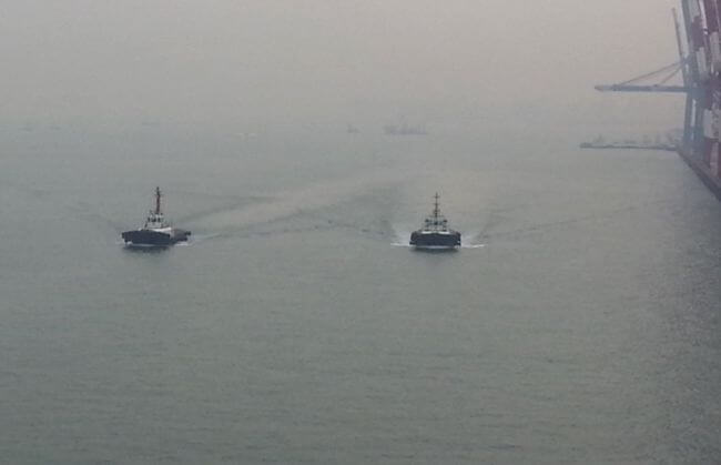 Ship Handling – Using Tugs For Manoeuvring A Ship