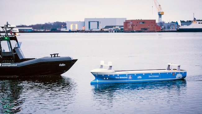 Norwegian Autonomous Shipping Test Bed