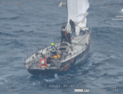 Watch: AMSA Rescues Damaged Yacht Crew 150KM East Flinders Island, Bass Strait