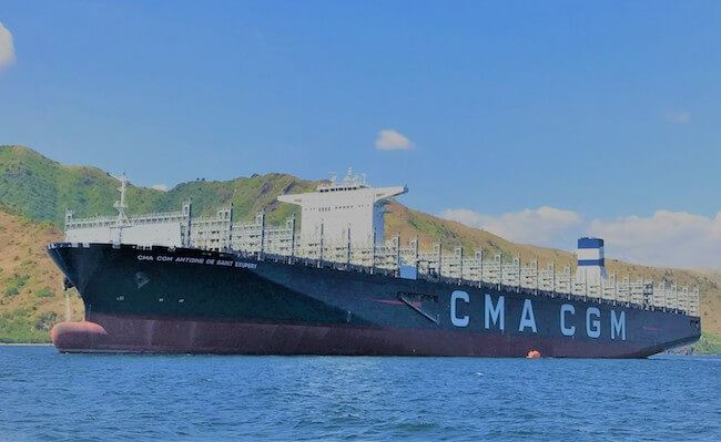 Hanjin?s First 20,600TEU Containership For CMA CGM Goes On Sea Trials