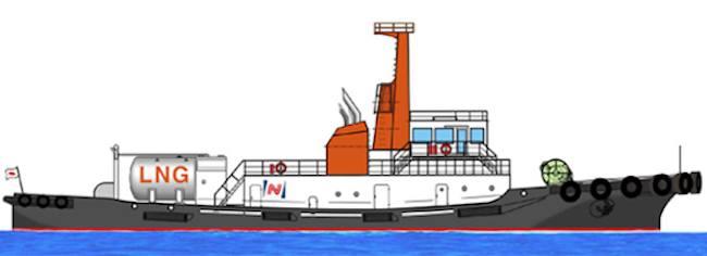 MOL LNG Tugboat