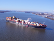 """Watch: PhilaPort Welcomes Its Largest Vessel To Date """"MSC Avni"""""""