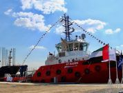 World's Largest Rotortug® Named At Albwardy Damen