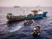 Seashepherd arrest liberia illegal shipping